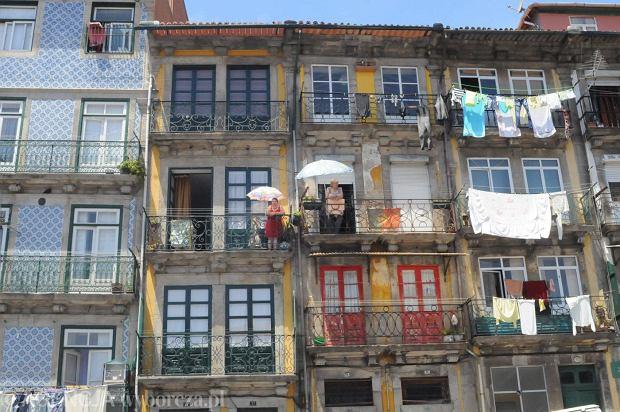 Suszenie pranie i odpoczynek w Porto