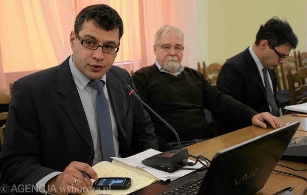Jacek Karnowski, Jerzy Jachowicz i Miichal Karnowsk z tygodnika