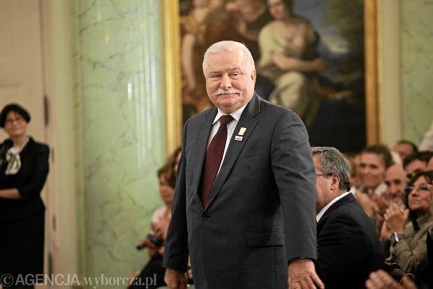 Lech Wałęsa na 32. rocznicy podpisania Porozumień Sierpniowych, 2012 r. (fot. Agata Grzybowska/AG)
