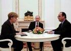 Kolejne spotkanie na szczycie w sprawie Ukrainy. Tym razem w Mińsku