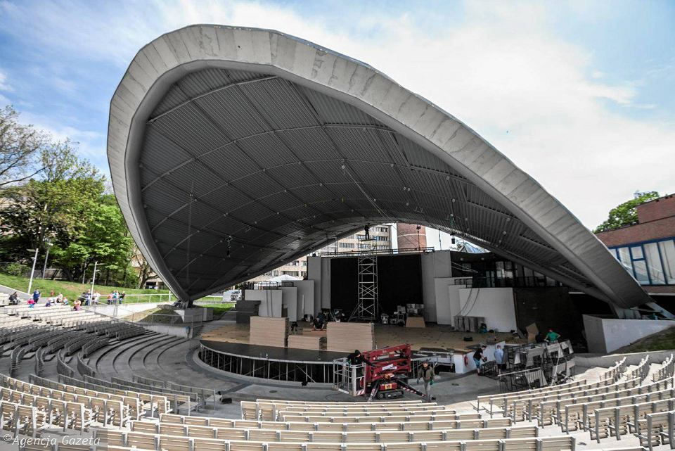 Opole 2017. W amfiteatrze ruszyły prace