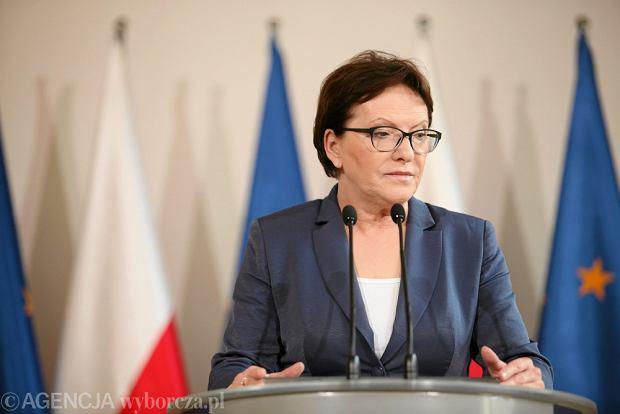 Premier Ewa Kopacz w Krakowie