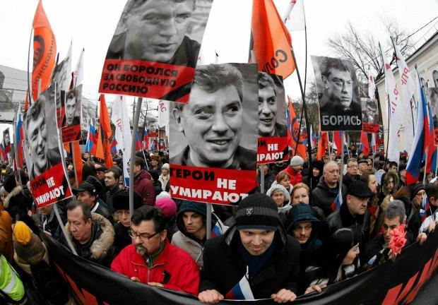 Głównym hasłem wczorajszej demonstracji w Moskwie było