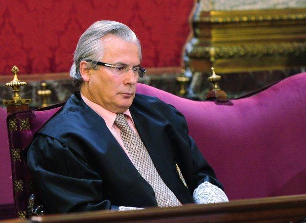Sędzia Baltasar Garzon, który rozpoczął śledztwo przeciwko korupcji