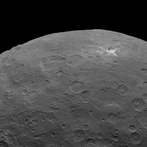 Półkula północna Ceres