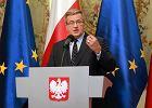 Komorowski: Rosja przechodzi do konfrontacji z Zachodem