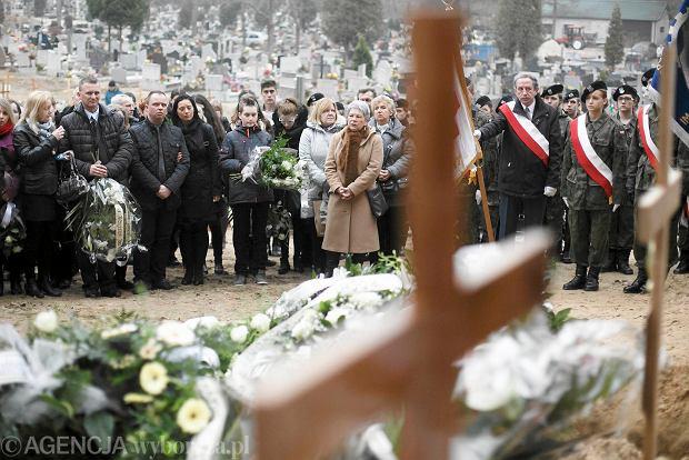 Pogrzeb Agaty na cmentarzu w Wejherowie