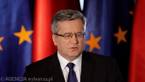 Prezydent Bronisław Komorowski kontra konwencja antyprzemocowa. Co z tego wyniknie?