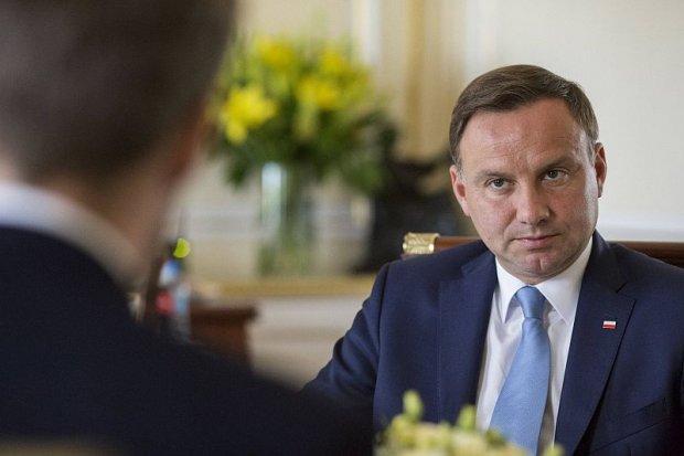 Andrzej Duda w Pałacu Prezydenckim