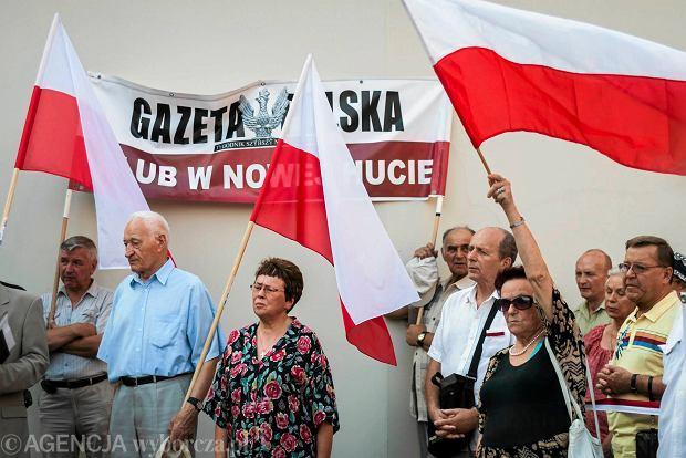 64. Miesięcznica Smoleńska w Krakowie