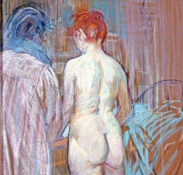Prostytucja w XIX wieku w Europie była zjawiskiem powszechnym i powszechnie tolerowanym (na zdjęciu powyżej