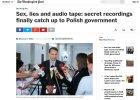 """""""Washington Post"""": """"Seks, kłamstwa i nagrania audio"""". Afera podsłuchowa właśnie zerwała skalpy"""