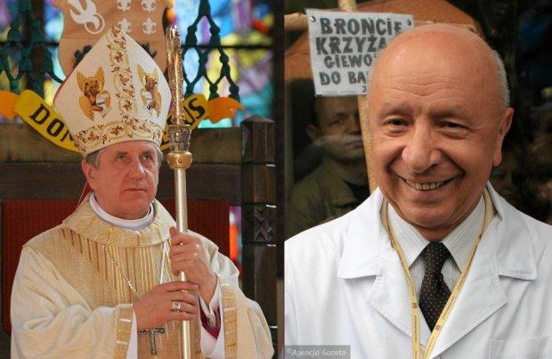 Abp. Dzięga i prof. Chazan