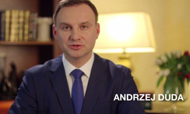 Kadr ze spotu wyborczego Andrzeja Dudy
