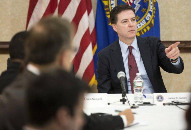 Szef FBI James B. Comey