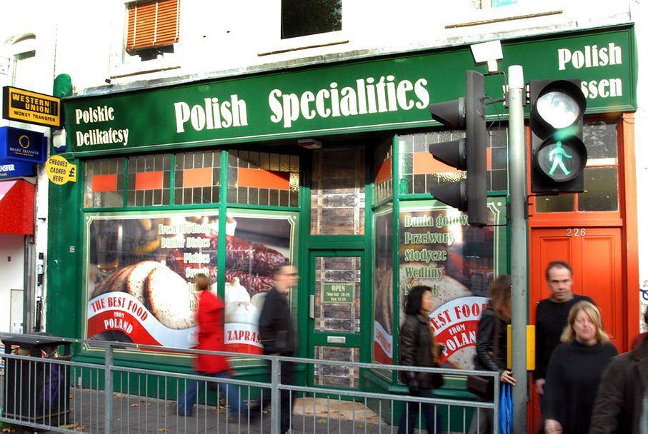 POLSKIE DELIKATESY W DZIELNICY LONDYNU HAMMERSMITH