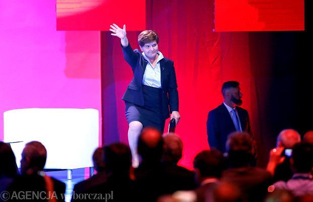 Beata Szydło na konwencji programowej PiS