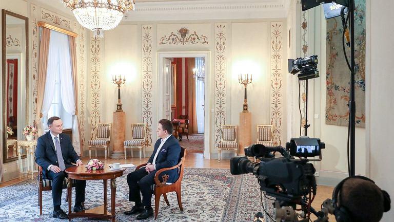 Andrzej Duda udzielił wywiadu
