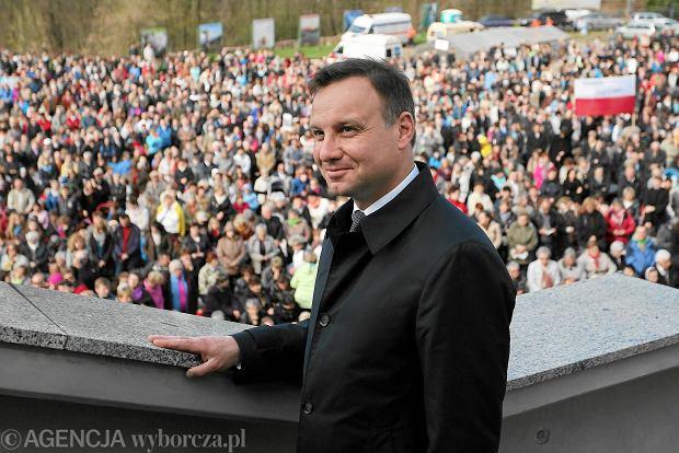 Andrzej Duda w Krakowie