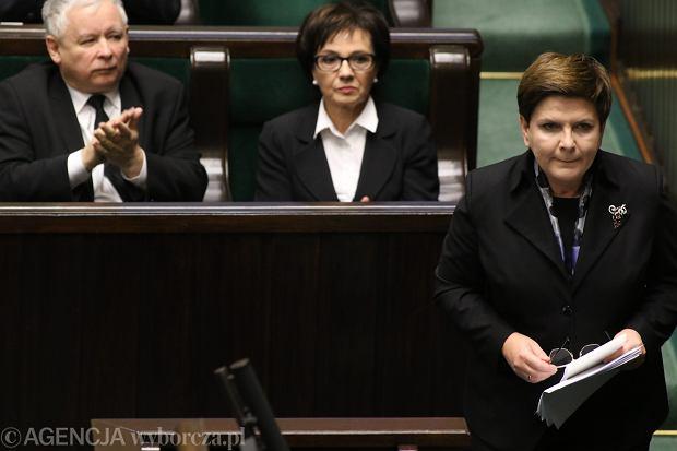 Głosowanie nad wotum zaufania dla rządu Beaty Szydło