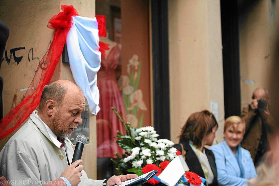 Odsłonięcie tablicy upamiętniającej powstanie SKS (2011)
