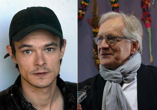 Dawid Ogrodnik i Andrzej Seweryn
