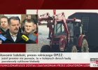 """Protest rolników: 100 traktorów blokuje drogę. Izdebski: """"Zablokujemy drogę pod domem Sawickiego"""""""