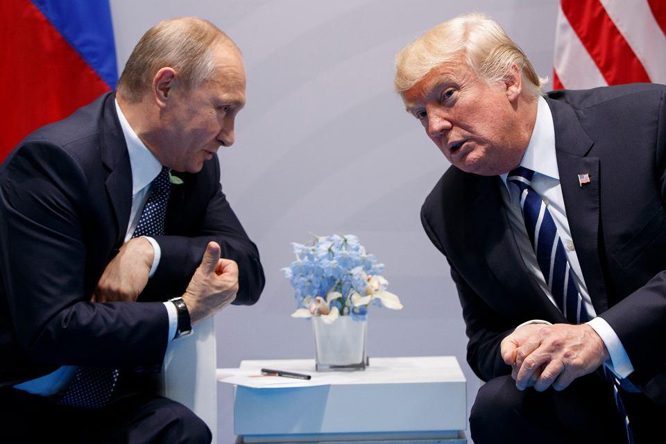 Putin i Trump na szczycie G20
