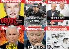 """Kaczyński to główny bohater okładek """"Newsweeka"""". Oto najlepsze z nich"""