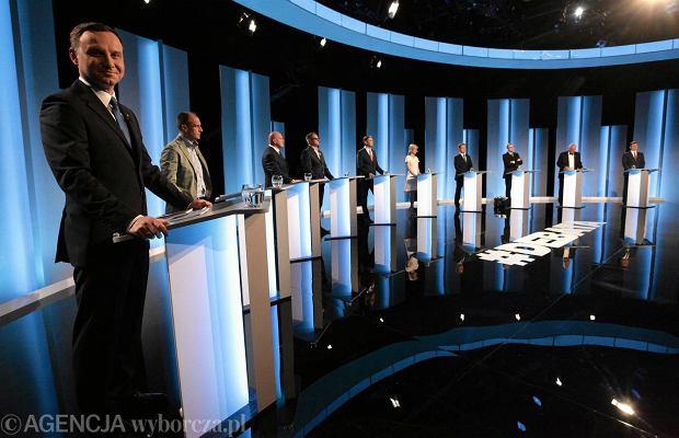 Debata prezydencka TVP