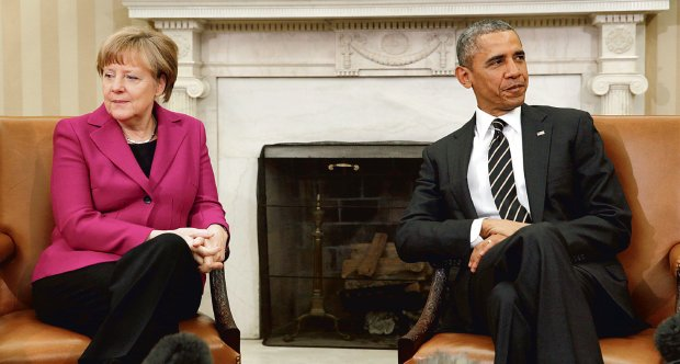 - Znacie mój sprzeciw wobec dostaw broni dla Ukrainy - mówiła kanclerz Merkel w Białym Domu