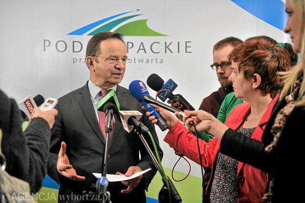 Jeden z sześciorga podkarpackich ekspertów Beaty Szydło - marszałek<br /><br /><br /><br /> województwa Władysław Ortyl