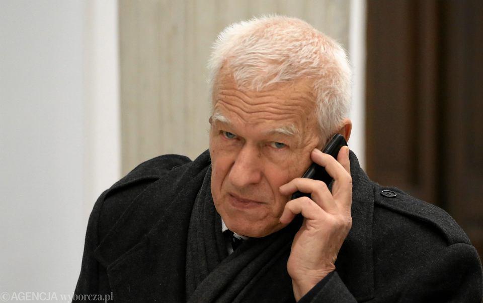 Marszałek Senior Kornel Morawiecki. Warszawa, 24 listopada 2016