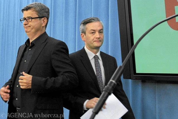 Janusz Palikot i Robert Biedroń