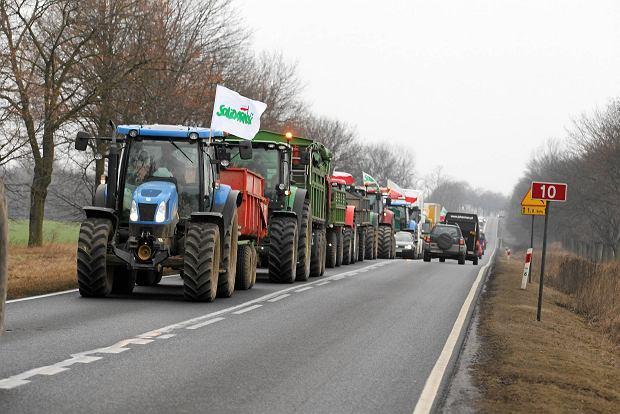 OPZZ Rolników: Od jutra protesty i blokada DK2. Później marsz gwiaździsty na Warszawę