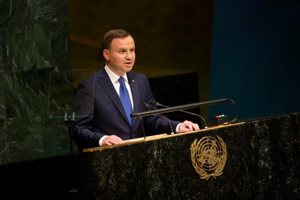 Prezydent Andrzej Duda w ONZ