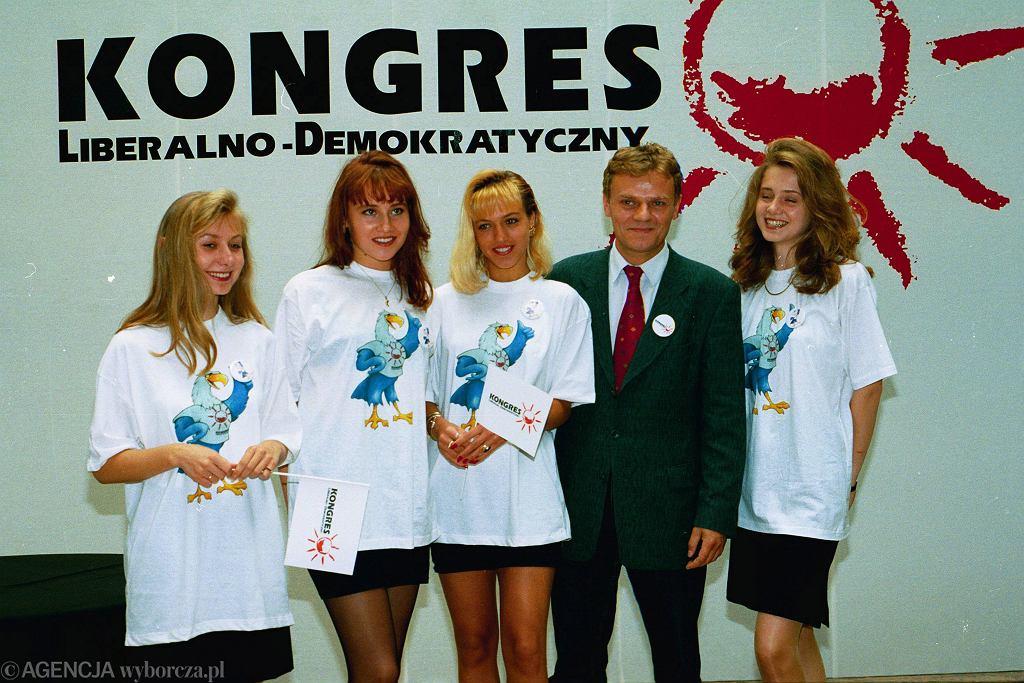 Kampania Kongresu Liberalno-Demokratycznego, 1993 r. (fot. Sławomir Kamiński/AG)
