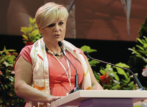 Iwona Piątek, przewodnicząca Partii Kobiet