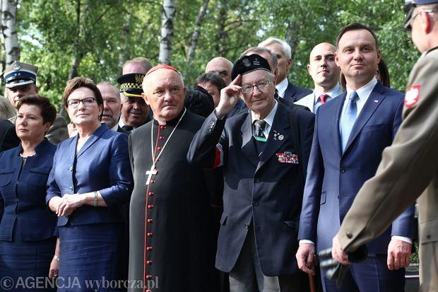 Rocznica Powstania Warszawskiego na Powązkach