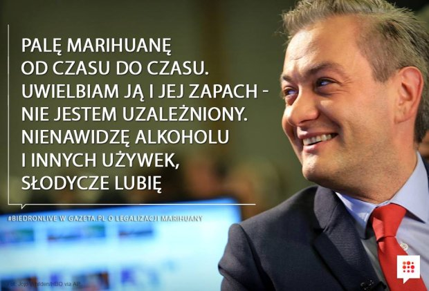 Robert Biedroń Live