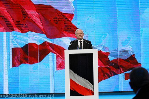 Jarosław Kaczyński na Konwecji PiS
