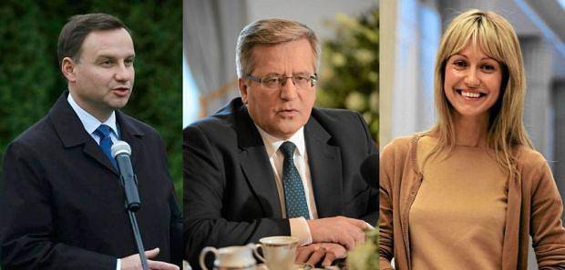 Andrzej Duda, Bronisław Komorowski, Magdalena Ogórek