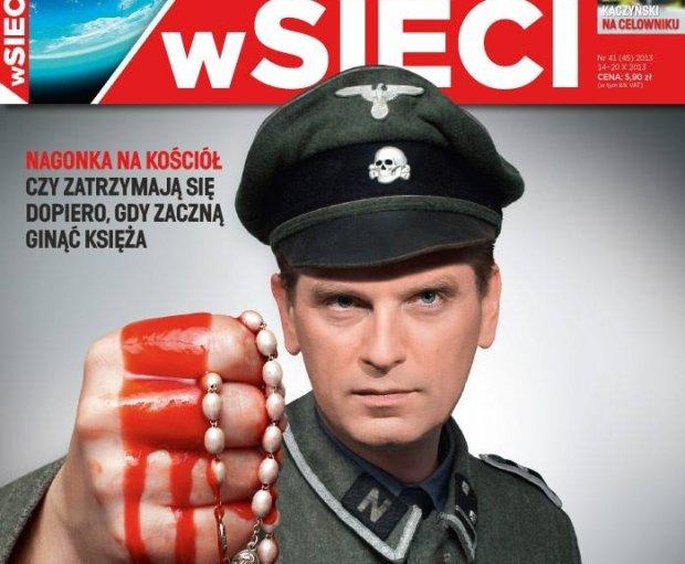 Tomasz Lis na okładce tygodnika