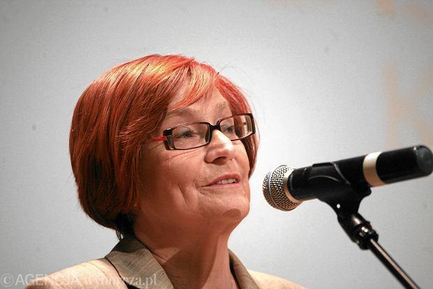 Pełnomocniczka rządu ds. równego traktowania Małgorzata Fuszara