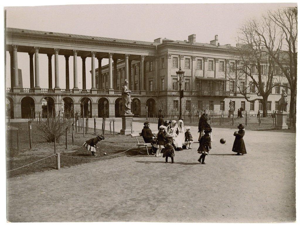 Pałac i Ogród Saski, ok. 1895