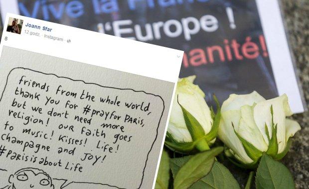 Wyrazy solidarności po zamachach w Paryżu
