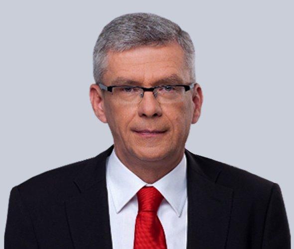 Stanisław Karczewski - wicemarszałek Senatu RP VIII kadencji, senator VI i VII kadencji, wybrany z listy Prawa i Sprawiedliwości
