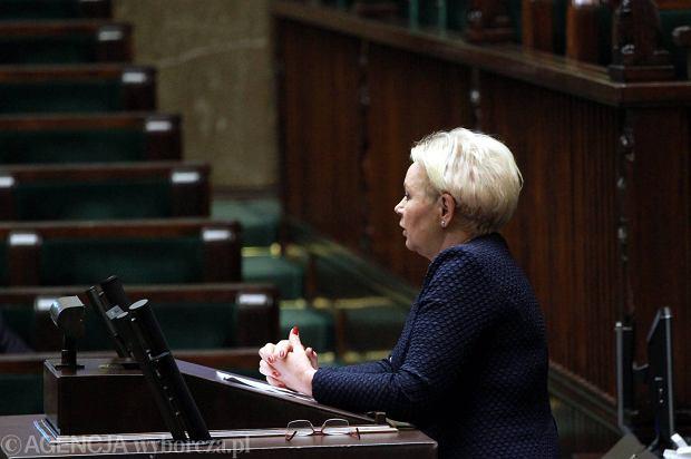 Krystyna Skowrońska, Przewodnicząca Komisji Finansów