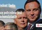 Andrzej Duda o konstytucji