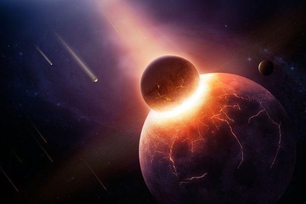 Zderzenie młodej Ziemi z planetą wielkości Merkurego wyjaśniłoby zagadkę jej silnego pola magnetycznego